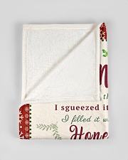 """BL10021 - To Mommy Hope Love Light Christmas Small Fleece Blanket - 30"""" x 40"""" aos-coral-fleece-blanket-30x40-lifestyle-front-17"""