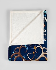 """BL10070 - To My Wife Once Upon A Time Small Fleece Blanket - 30"""" x 40"""" aos-coral-fleece-blanket-30x40-lifestyle-front-17"""
