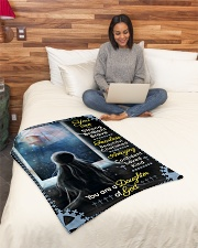 """JES10096 - You Are A Daughter Of God Small Fleece Blanket - 30"""" x 40"""" aos-coral-fleece-blanket-30x40-lifestyle-front-08"""