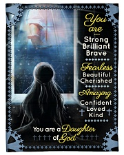 """JES10096 - You Are A Daughter Of God Small Fleece Blanket - 30"""" x 40"""" front"""