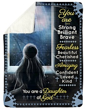JES10096 - You Are A Daughter Of God Sherpa Fleece Blanket tile
