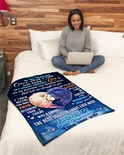 """BL10081 - To My Husband Once Upon A Time Small Fleece Blanket - 30"""" x 40"""" aos-coral-fleece-blanket-30x40-lifestyle-front-08"""