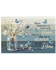 FAM10117CV - Someone We Love Is In Heaven Horizontal Poster tile