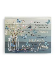 FAM10117CV - Someone We Love Is In Heaven 14x11 Gallery Wrapped Canvas Prints aos-canvas-pgw-14x11-ghosted-front-02