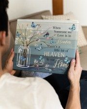 FAM10117CV - Someone We Love Is In Heaven 14x11 Gallery Wrapped Canvas Prints aos-canvas-pgw-14x11-lifestyle-front-29