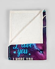"""BL10056N - To My Chloe Dad Letter Small Fleece Blanket - 30"""" x 40"""" aos-coral-fleece-blanket-30x40-lifestyle-front-17"""