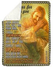 JES10042BL - Jesus Christ  Sherpa Fleece Blanket tile