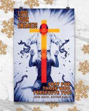 JES10012PT - Jesus Christ Love Your Enemies 11x17 Poster aos-poster-portrait-11x17-lifestyle-25