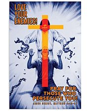 JES10012PT - Jesus Christ Love Your Enemies 11x17 Poster front