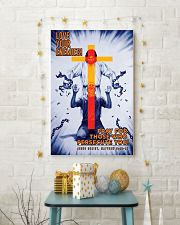 JES10012PT - Jesus Christ Love Your Enemies 11x17 Poster lifestyle-holiday-poster-3