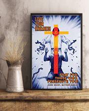 JES10012PT - Jesus Christ Love Your Enemies 11x17 Poster lifestyle-poster-3