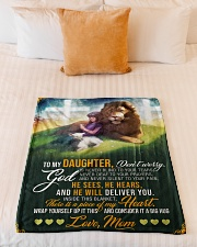 """Jes10089 - God Is Never Blind To Your Tears Small Fleece Blanket - 30"""" x 40"""" aos-coral-fleece-blanket-30x40-lifestyle-front-04"""