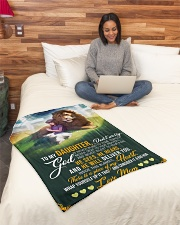 """Jes10089 - God Is Never Blind To Your Tears Small Fleece Blanket - 30"""" x 40"""" aos-coral-fleece-blanket-30x40-lifestyle-front-08"""