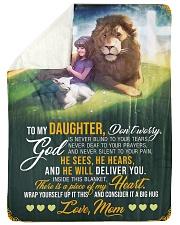 Jes10089 - God Is Never Blind To Your Tears Sherpa Fleece Blanket tile