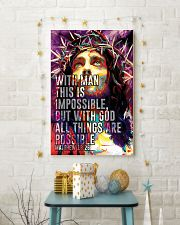 JES10008PT - Jesus Christ All Things Are Possible 11x17 Poster lifestyle-holiday-poster-3