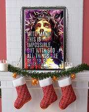 JES10008PT - Jesus Christ All Things Are Possible 11x17 Poster lifestyle-holiday-poster-4