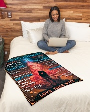 """BL10086 - To My Husband Whom My Soul Loves Small Fleece Blanket - 30"""" x 40"""" aos-coral-fleece-blanket-30x40-lifestyle-front-08"""