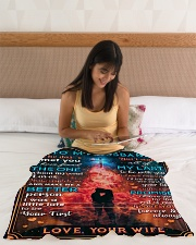 """BL10086 - To My Husband Whom My Soul Loves Small Fleece Blanket - 30"""" x 40"""" aos-coral-fleece-blanket-30x40-lifestyle-front-12"""