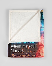 """BL10086 - To My Husband Whom My Soul Loves Small Fleece Blanket - 30"""" x 40"""" aos-coral-fleece-blanket-30x40-lifestyle-front-17"""