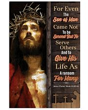 JES10018PT - Jesus Christ For Even Son Of Man 11x17 Poster front