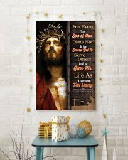 JES10018PT - Jesus Christ For Even Son Of Man 11x17 Poster lifestyle-holiday-poster-3