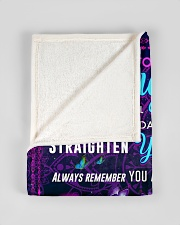 """BL10105 - To My Daughter Night Galaxy Love Mom Small Fleece Blanket - 30"""" x 40"""" aos-coral-fleece-blanket-30x40-lifestyle-front-17"""