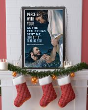 JES10006PT - Jesus Christ Peace Be With You 11x17 Poster lifestyle-holiday-poster-4