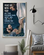JES10006PT - Jesus Christ Peace Be With You 11x17 Poster lifestyle-poster-1