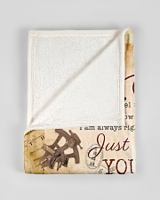 """BL10044 - To My Son Vintage Dad Letter Small Fleece Blanket - 30"""" x 40"""" aos-coral-fleece-blanket-30x40-lifestyle-front-17"""