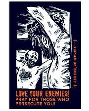 JES10010PT - Jesus Christ Love Your Enemies 11x17 Poster front
