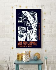 JES10010PT - Jesus Christ Love Your Enemies 11x17 Poster lifestyle-holiday-poster-3