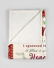 "BL10007 - To Grandma Hope Love Light Christmas Small Fleece Blanket - 30"" x 40"" aos-coral-fleece-blanket-30x40-lifestyle-front-17"