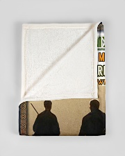 """BL10096 - To My Dad Hunting Love Son Small Fleece Blanket - 30"""" x 40"""" aos-coral-fleece-blanket-30x40-lifestyle-front-17"""
