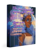 CV10016 - The Most Beautiful Woman Gallery Wrapped Canvas Prints tile