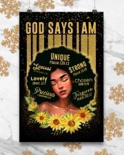 CV10020 - God Says I Am 11x17 Poster aos-poster-portrait-11x17-lifestyle-25