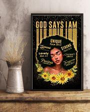 CV10020 - God Says I Am 11x17 Poster lifestyle-poster-3