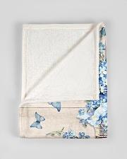 """FAM10120BL - Feel My Heart Breaking Small Fleece Blanket - 30"""" x 40"""" aos-coral-fleece-blanket-30x40-lifestyle-front-17"""