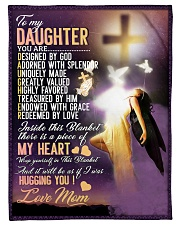 """Jes10083 - Daughter Designed By God Small Fleece Blanket - 30"""" x 40"""" front"""