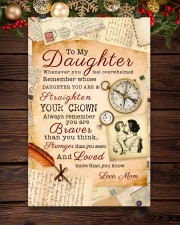 CV10008 - To My Daughter Old Postcard Mom Letter 11x17 Poster aos-poster-portrait-11x17-lifestyle-22