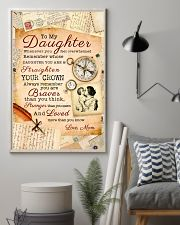 CV10008 - To My Daughter Old Postcard Mom Letter 11x17 Poster lifestyle-poster-1