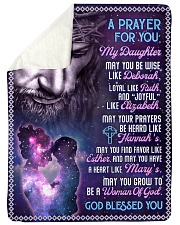 JES10058BL -  A Prayer For Daughter Sherpa Fleece Blanket tile