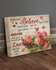 FAM10125CV - When You Believe Love Never Dies 14x11 Gallery Wrapped Canvas Prints aos-canvas-pgw-14x11-lifestyle-front-10