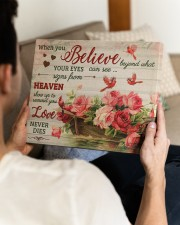FAM10125CV - When You Believe Love Never Dies 14x11 Gallery Wrapped Canvas Prints aos-canvas-pgw-14x11-lifestyle-front-29