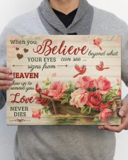FAM10125CV - When You Believe Love Never Dies 14x11 Gallery Wrapped Canvas Prints aos-canvas-pgw-14x11-lifestyle-front-30