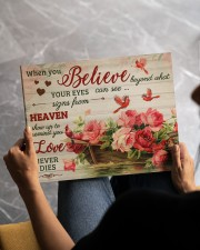 FAM10125CV - When You Believe Love Never Dies 14x11 Gallery Wrapped Canvas Prints aos-canvas-pgw-14x11-lifestyle-front-42