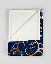 """BL10071 - To My Husband Once Upon A Time Small Fleece Blanket - 30"""" x 40"""" aos-coral-fleece-blanket-30x40-lifestyle-front-17"""