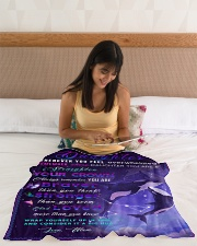 """BL10032 - Beloved Daughter Whale Night Small Fleece Blanket - 30"""" x 40"""" aos-coral-fleece-blanket-30x40-lifestyle-front-12"""