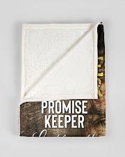 "JES10091BL - Jesus Way Maker Miracle Worker Small Fleece Blanket - 30"" x 40"" aos-coral-fleece-blanket-30x40-lifestyle-front-17"