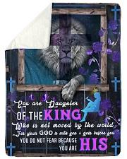 JES10052BL - Jesus Christ  Sherpa Fleece Blanket tile