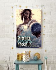 JES10003PT - Jesus Christ All Things Are Possible 11x17 Poster lifestyle-holiday-poster-3